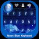 Moon Blue Keyboard by Droid Keypad