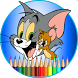 tom and jerry coloring by chy mngmnt