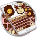 Love Chocolate Emoji Keyboard Theme by Themes Dialer and Keyboard