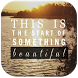 Beautiful Life Quote Wallpaper by WallsApps