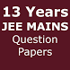 Download 13 Years JEE MAINS Question Papers by Prakash AK