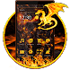 Fiery Black Theme by Android Themes & Live Wallpapers