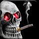 Smoking Skull by Dana Apps