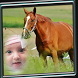 Horse Photo Frame by Photo Editor Art