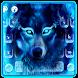 Neon Wolf Keyboard Theme