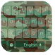 Army Camouflage Green Keyboard by Keyboard Theme Factory