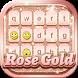 Rose Gold Keyboard by Thalia Spiele und Anwendungen