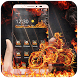 Burning Fire And Flame Theme by Theme Designer
