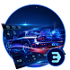 3d neon holographic sports car keyboard by Bestheme Keyboard Designer