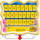 Yellow Cute Cartoon Keyboard Theme by Hot Keyboard Themes For Android