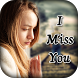 Miss You Photo Frame by Creative photo art