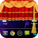 Curtain Lock Screen Theme1 by Onex Softech