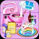 Cooking Rainbow Birthday Cake by bweb media