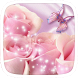 Pink Butterfly Heart Theme by Featuredtheme