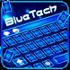 Blue Tech Keyboard Theme by Echo Keyboard Theme