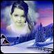 Snowfall photo frame by Akshra Infotech