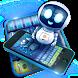 3D Techno Robot Keyboard by Keyboard Theme Factory