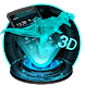 3d Dinosaur Holographic Technology by Hello Keyboard Theme