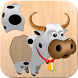 Animals Puzzle for Kids by Abuzz