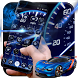 Analogue Neon Tachometer Dashboard Theme by Android Themes by PIXI