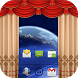 Curtain Lock Screen Theme2 by Onex Softech
