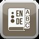 Dictionary 4 English - German by Brainglass Data AB