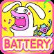 Lips Cat & Rabbit Battery by peso.apps.pub.arts