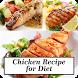 Chicken Recipe for Diet by khaina
