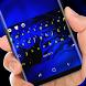 Blue Zebra HD Wallpaper Yellow Font Keypad by Sexy Theme for Smart Phone