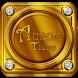 Aurum Gold & Diamonds Premium Launcher Theme by Mobile Premium Themes