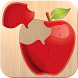 Food puzzle for kids by Abuzz