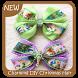 Charming DIY Christmas Hair Bows by GoDream Studio