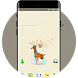 Cartoon Baby Deer Theme for Samsung Galaxy Note by Mobo Theme Apps Team