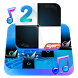 Piano Tiles 2™ Keyboard Theme by Cheetah Keyboard
