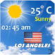 Los Angeles weather by Smart Apps Android