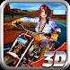 Racing Girl Moto Rider