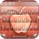 Crystal Apple Rose Gold - Keyboard Theme 2018 by Best apps and games 2018