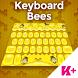 Keyboard Bees by BestKeyboardThemes