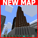 Green Little City MCPE map by Leann