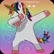 Kawaii Unicorn password Lock Screen by LOCK SCREEN