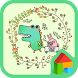 Alligator dodol launcher theme by iConnect