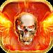 Cool FireSkull theme by Utone Theme