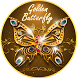 Luxurious Golden Butterfly by Hot Launcher