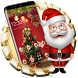 luxuriant christmas tree theme gift wallpaper by Rose theme