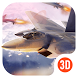 3D Theme - Aircraft Combat Cool 3D Wallpaper by Themes for Android Free