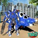 Police Helicopter Futuristic Air Robot Battle by Dictator Game Studio