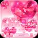 Pink Diamond Keyboard Theme by Fantasy Keyboard studio