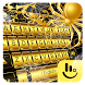 Gold Spider Knight Keyboard Theme by Sexy Free Emoji Keyboard Theme