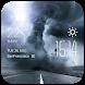 Tornado Clock weather widget