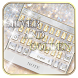 Silver and Gold Theme Keyboard by GpDev
